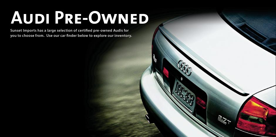 Mannmedia Abbeys Euphemisms - Pre owned audi